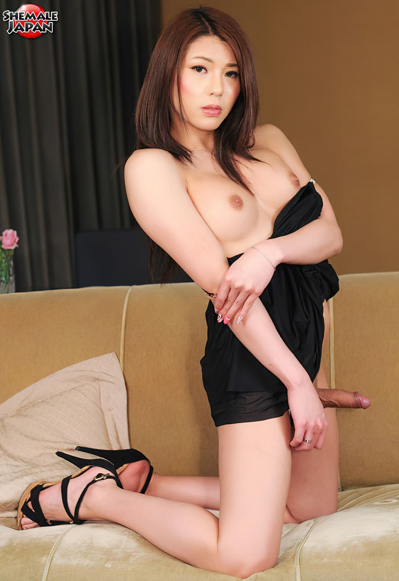 Travesti Vestido Negro (4)