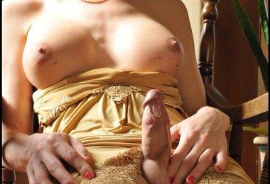 Travesti Tesao Baixo Vestido (3)