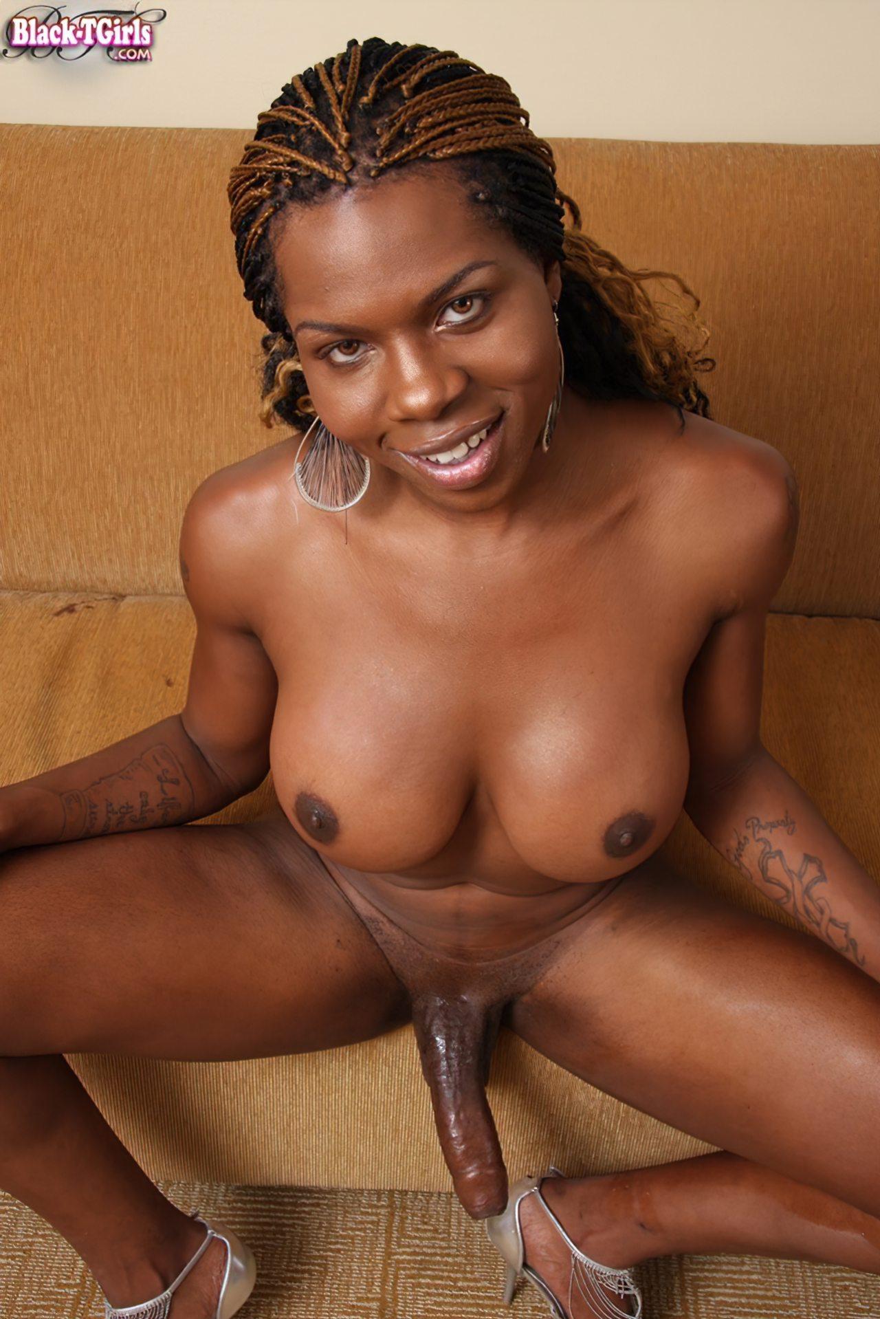 Transex Negra Taradinha