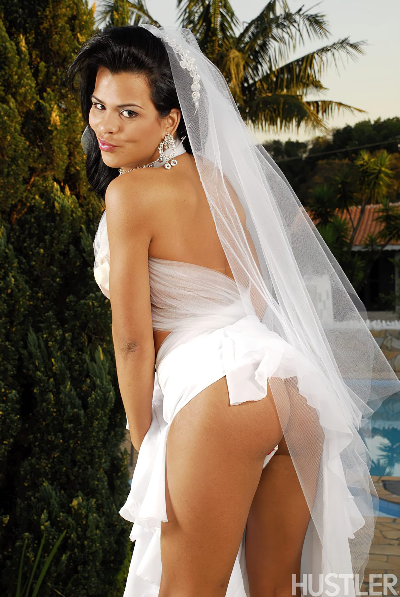 Transex Gostosa Dia Casamento (1)