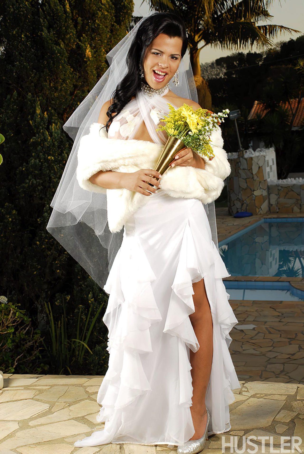 Transex Gostosa Dia Casamento (2)