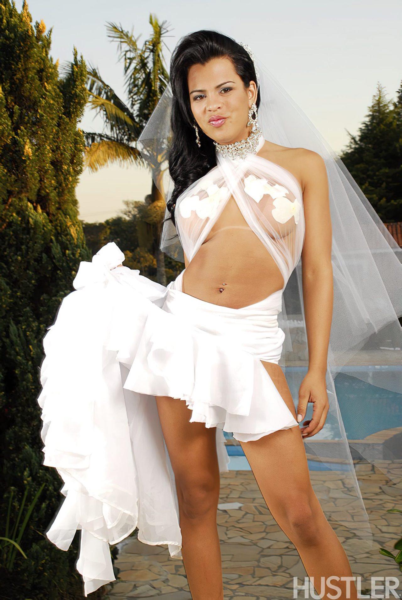 Transex Gostosa Dia Casamento (3)