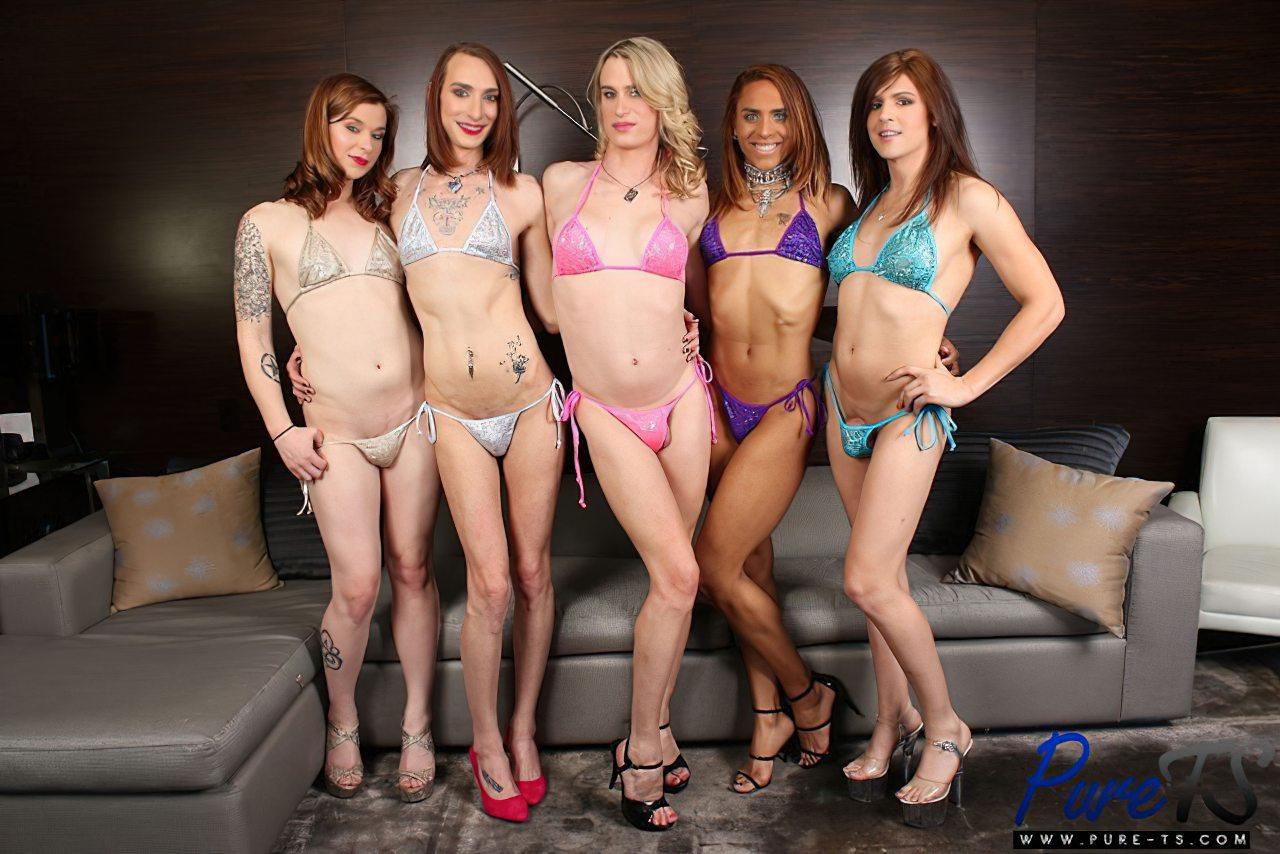 Cinco Travestis Sem Calcinha (3)