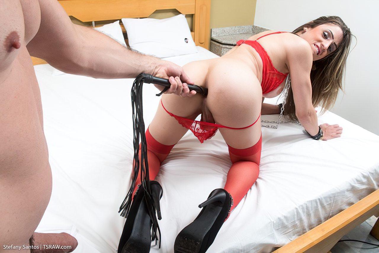 Stefany Acorrentada Durante Sexo (4)