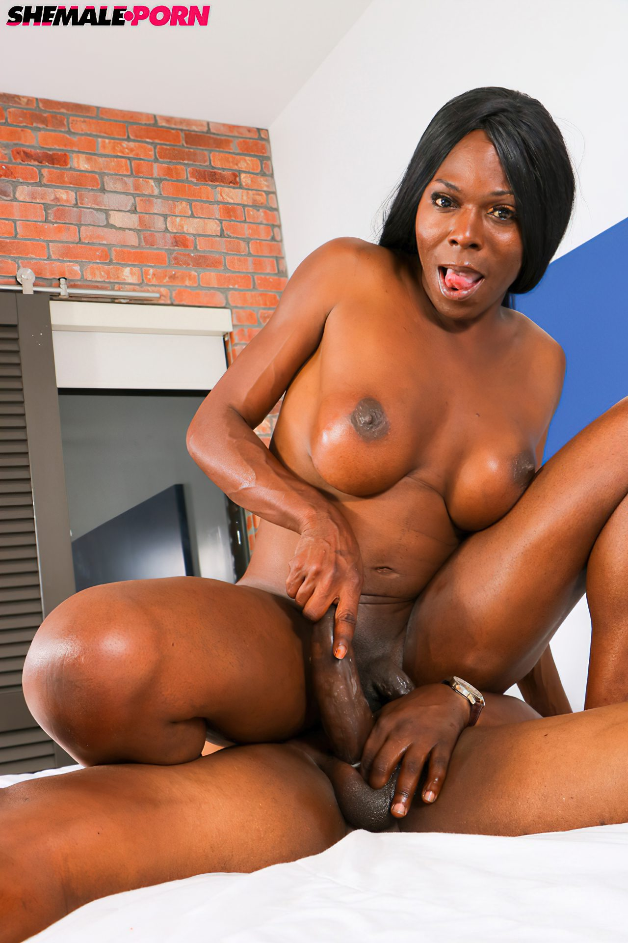 Transex Negra Fodida Cacete (1)