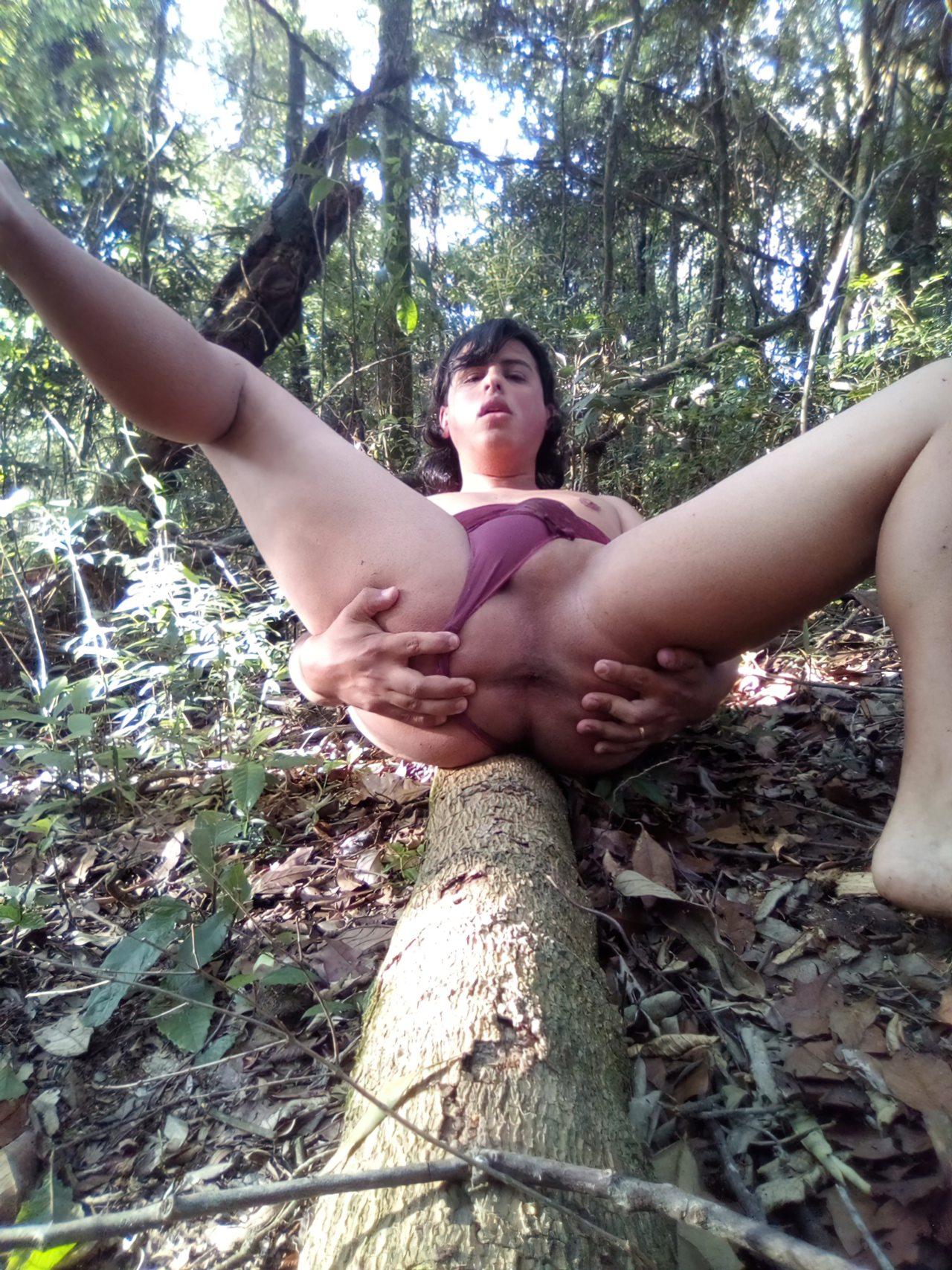 Amadora Tocando Punheta Mato (5)