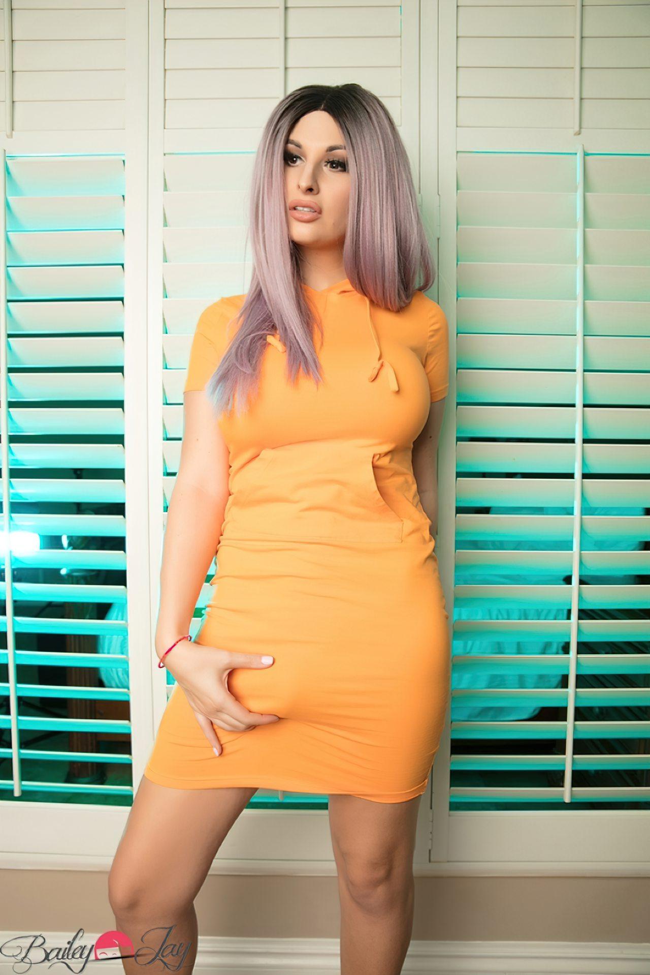 Bailey Jay Vestido Laranja (3)