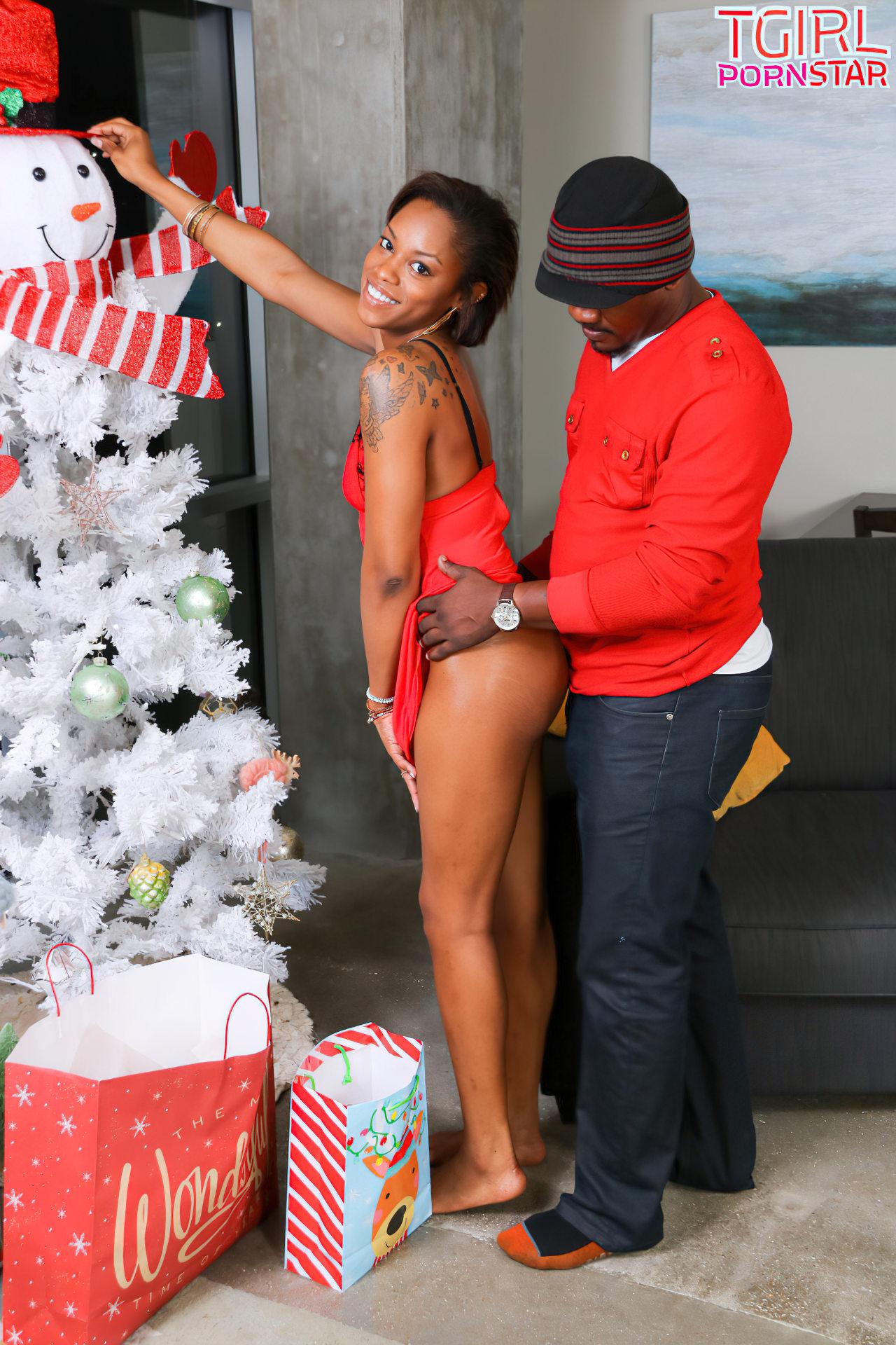 Travesti Negra Fodida no Natal (1)