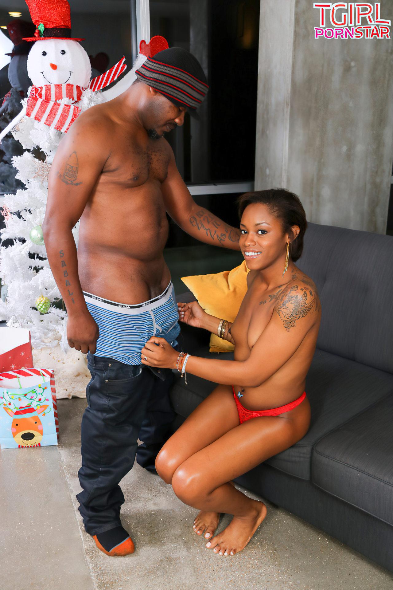Travesti Negra Fodida no Natal (4)